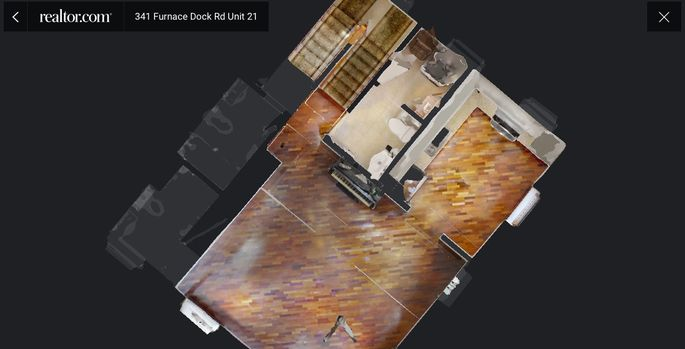 Virtual tours show viewers a 3D model of a home's floor plan.