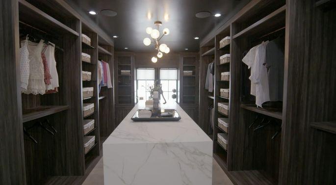 Drew Scott designed an epic closet.