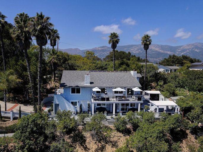 Michael Imperioli's home in Santa Barbara, CA