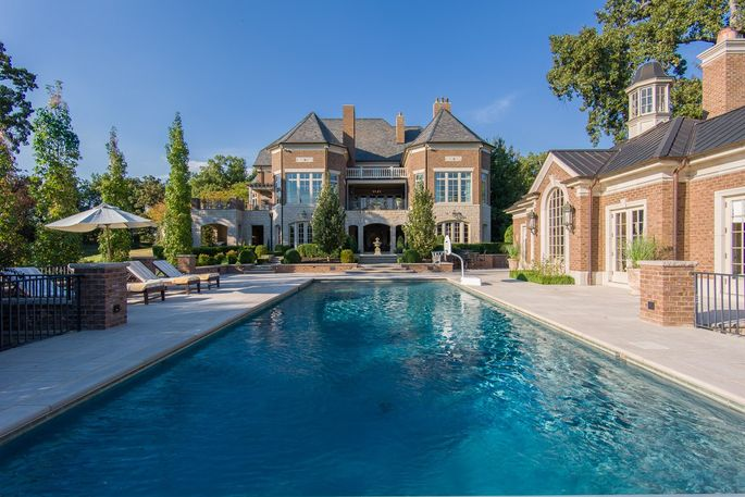 Exterior of Kentucky's most expensive house
