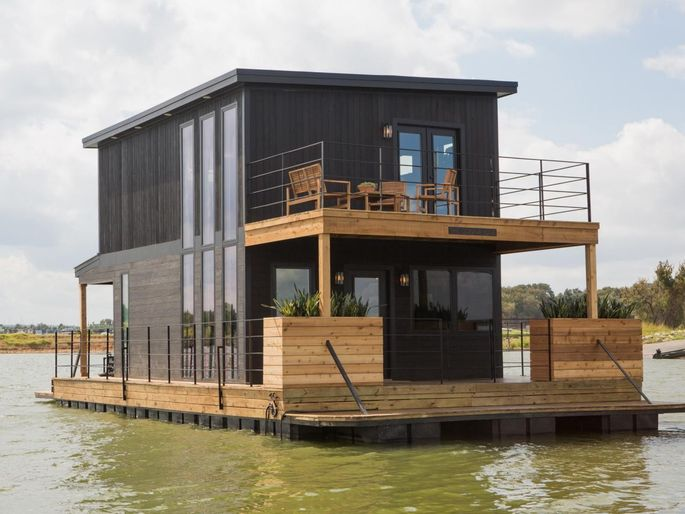 Chip and Joanna even turned a leaky houseboat into an inviting vacation home!