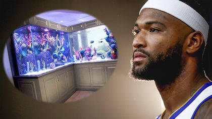 DeMarcus Cousins Scores Massive Fish Tank for His Las Vegas Mansion in 'Tanked'