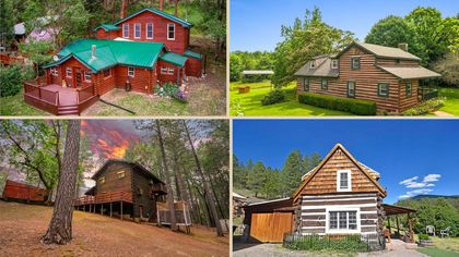 8 Log Cabins Perfect for a Permanent Getaway From the City