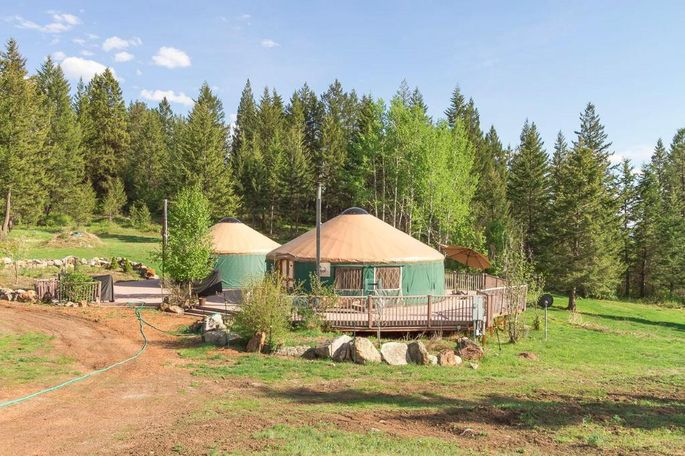 For Sale Five Yurts For Yurtin Around In Realtor Com