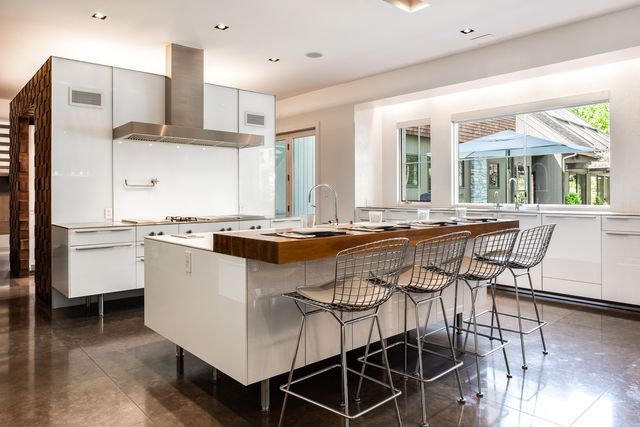 Kitchen in home of Equinox founder