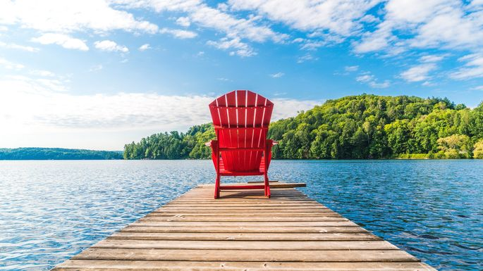 Adirondack-Chair  sc 1 st  Realtor.com & What Is an Adirondack Chair? A Brief History and More | realtor.com®