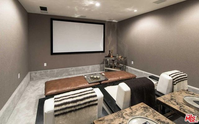 After / Mandeville Canyon home theater