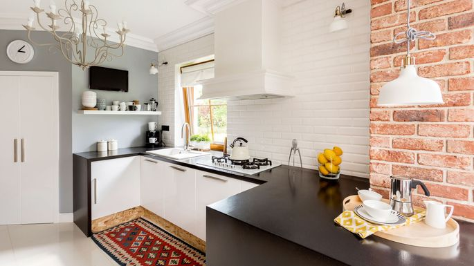10 Genius Ways To Make A Small Kitchen Feel Bigger Realtor Com