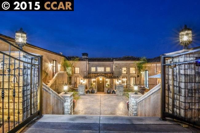 Stephen Curry's San Francisco Bay Area home