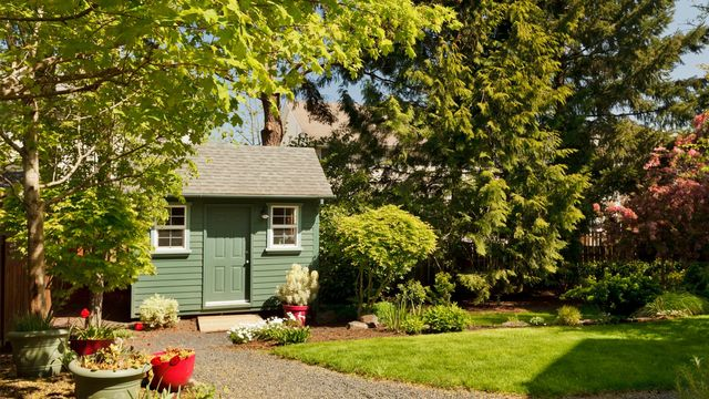 How to Build a Livable Shed in Your Backyard Without Going Nuts | realtor.com®