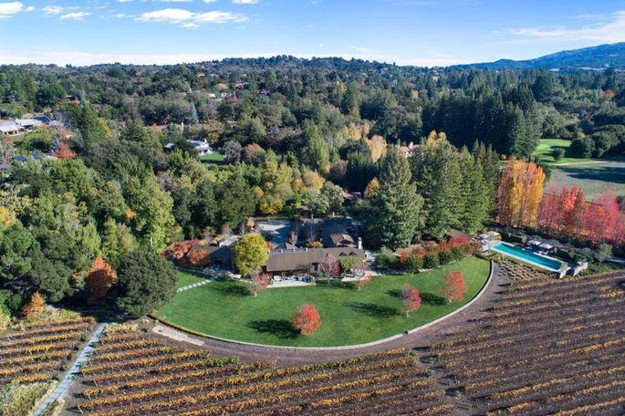 Andy Rubin's Woodside estate
