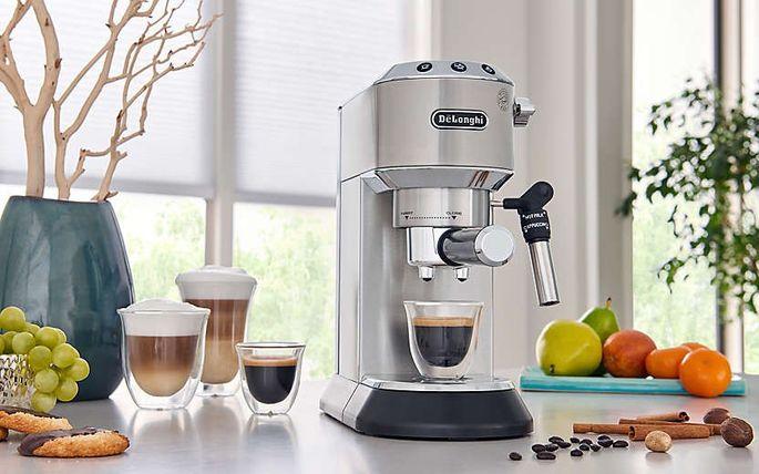 De'Longhi Dedica deluxe espresso machine