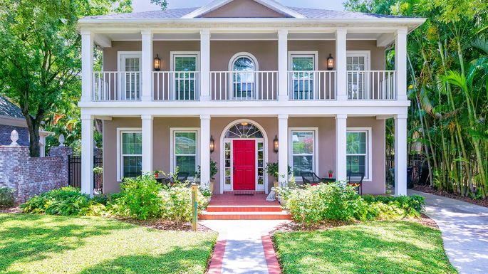 red-front-door & Unlock These 6 Stunning Front Door Designs for Any Type of Home ...