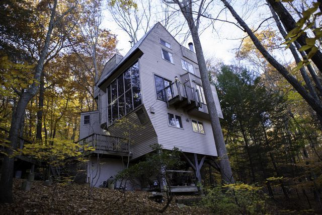 Dine Among the Treetops in This Cool 'Treehouse' | realtor.com® on