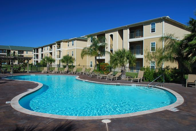 Some condo complexes come with swimming pools.