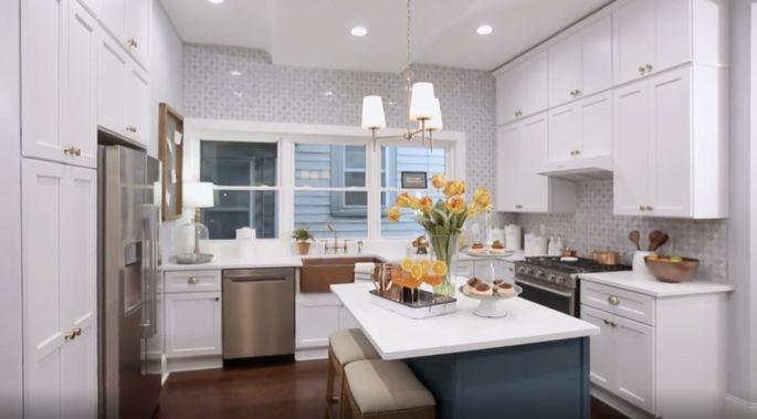 Une cuisine élégante pour une maison élégante