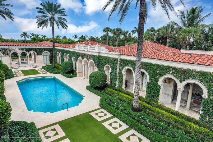 $110M Oceanfront Mansion in Palm Beach Is Most Expensive ...