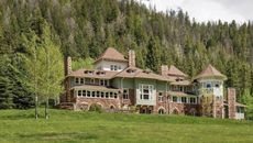 Historic Colorado Castle in the Rockies Can Be Yours—Antique Ski Lift Included