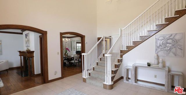 Staircase in Gina Rodriguez house