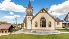 Strike Gold With a Converted Church and Miniature Mining Town in Eureka, UT