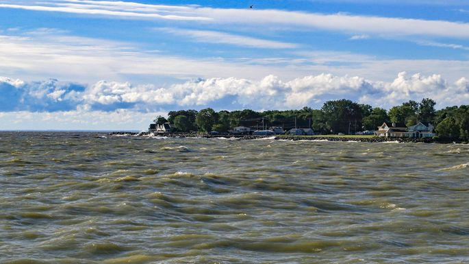 Lake Erie from Port Clinton, OH