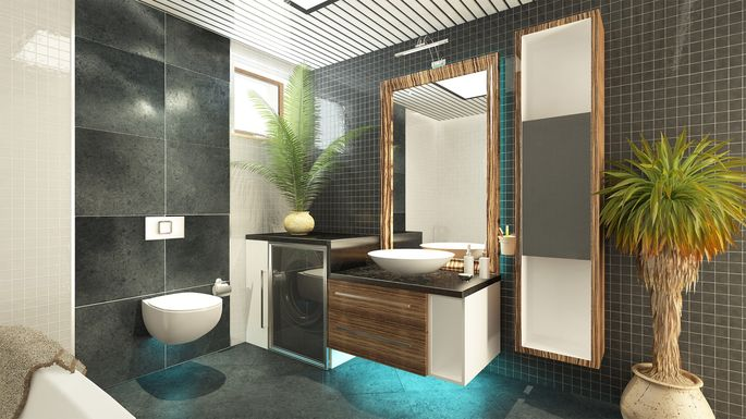 Tiny Home Designs: 9 Sneaky Tricks To Make Your Bathroom Look Expensive