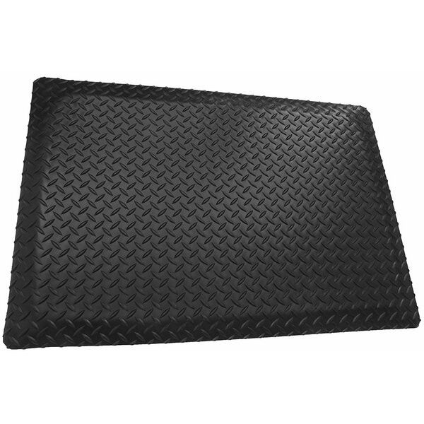 Cushioned mats keep you safe and comfortable as you work.
