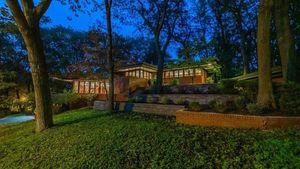 Frank Lloyd Wright's Armstrong House in Indiana Now Available for $1.2M