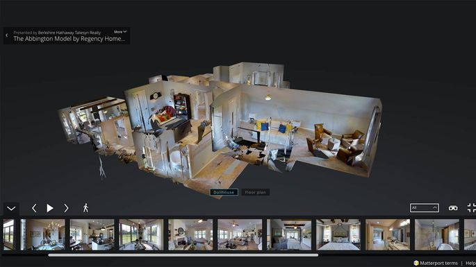 Join us on a virtual walk through of 2016 39 s top 3 d home for Virtual home walkthrough