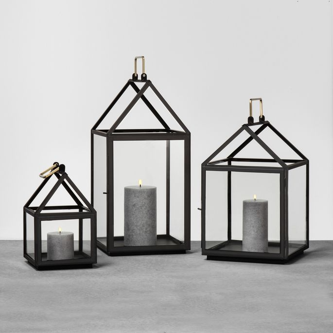 Gather these lanterns together or display one by itself. Either way, they give off a homey vibe that'll make anyone feel welcome.