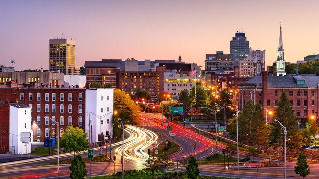 Bustling Worcester, MA