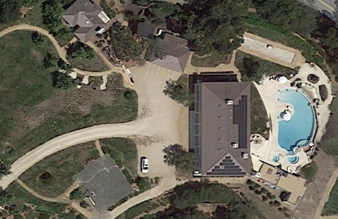 Jed York's mansion in Los Altos Hills, CA