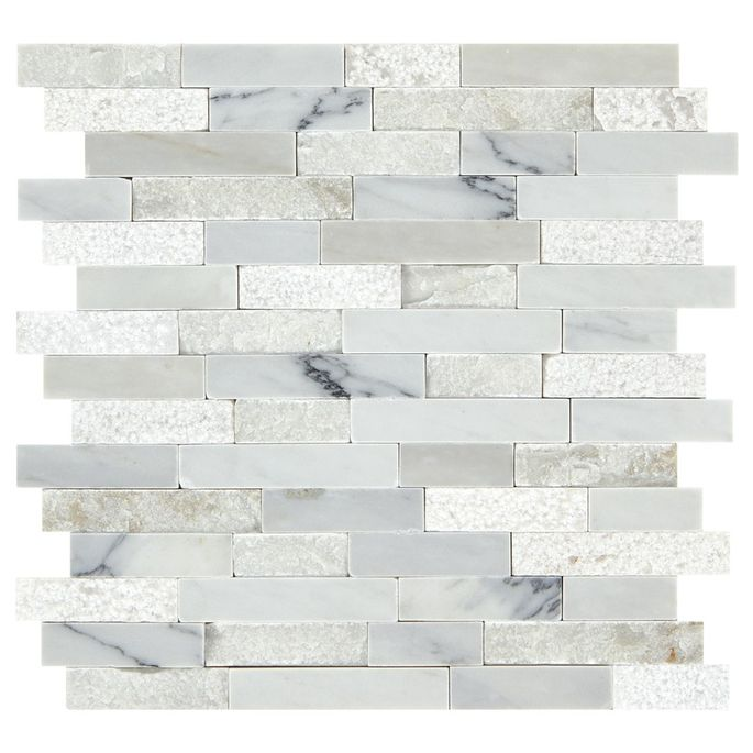 Try stone tile if you're looking to fine-tune your bathroom.