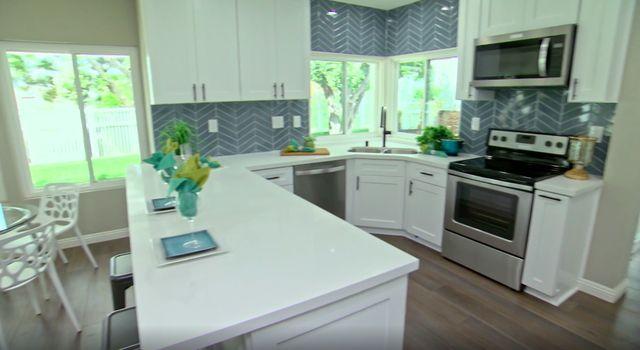tile kitchen