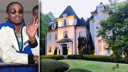Atlanta Castle Once Rented by Quavo of Migos Now on the Market for $1.35M