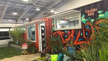 You Can Haul Away a Model Shipping Container Home for Only $127K