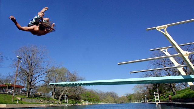 Barton Springs in Austin, TX