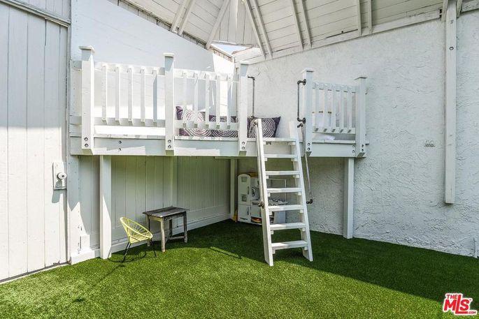 Backyard loft