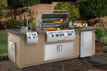 High-End, Built-in Barbecues Get Hot