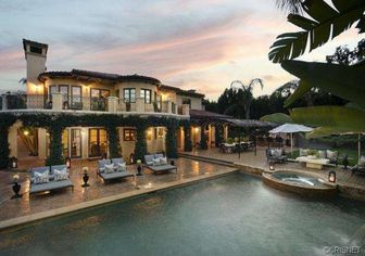 Khloe and Lamar Officially List Tarzana Mansion