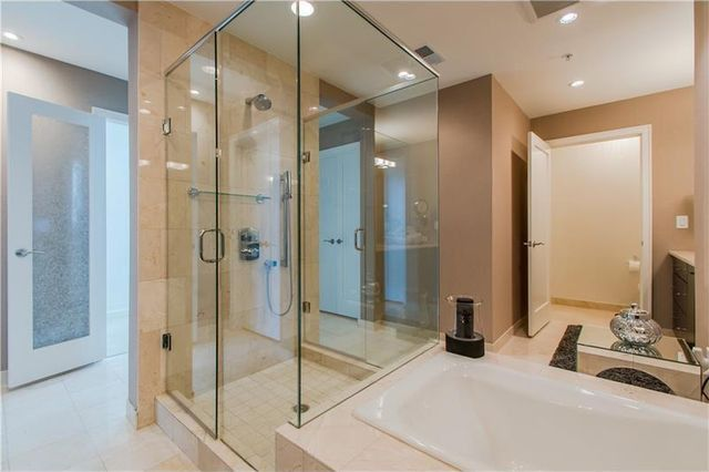 One of the home's luxurious 3.5 baths