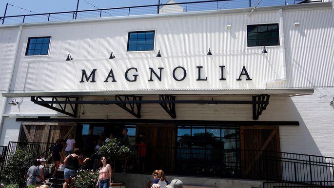 Magnolia Silos in Waco, Texas