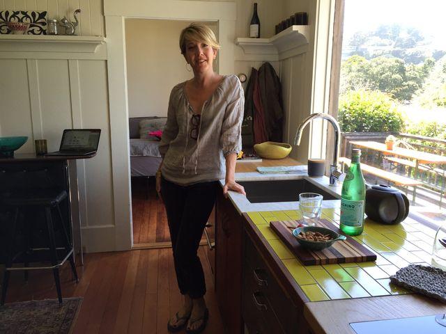 Jennifer Nix With Mobile Kitchen