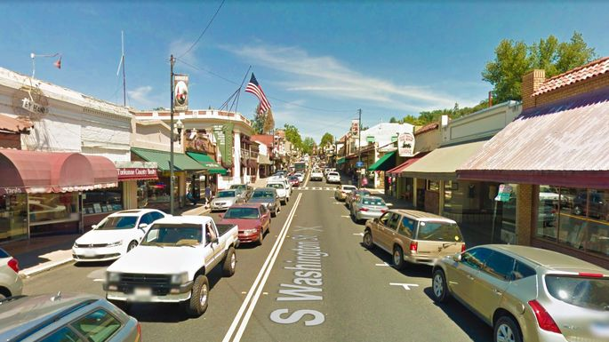 Washington Street in Sonora, CA