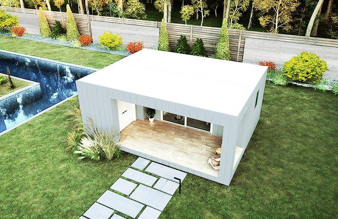 Modular shipping container home