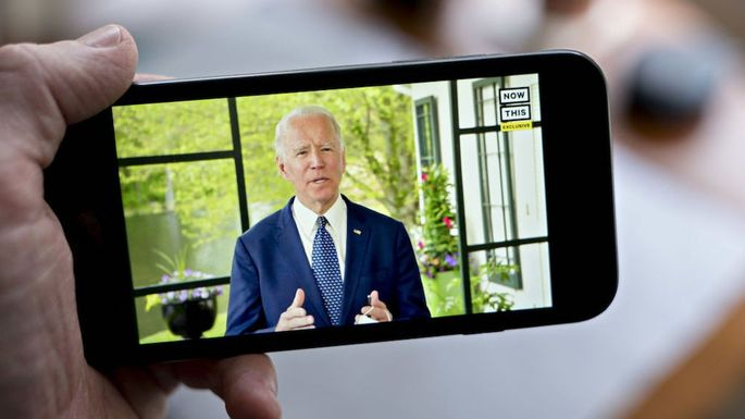 Former Vice President Biden Virtual Address As Group Launches $10 Million In Ads