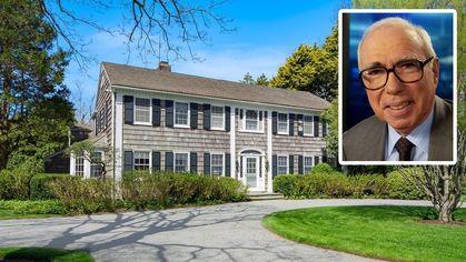Diplomat and Financier Felix Rohatyn's Former Hamptons Estate on the Market