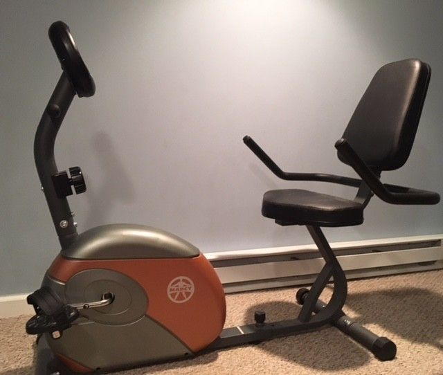 This recumbent bike brought in $50, though several people offered to take it off my hands for $25. If you're in no rush, wait for your asking price.