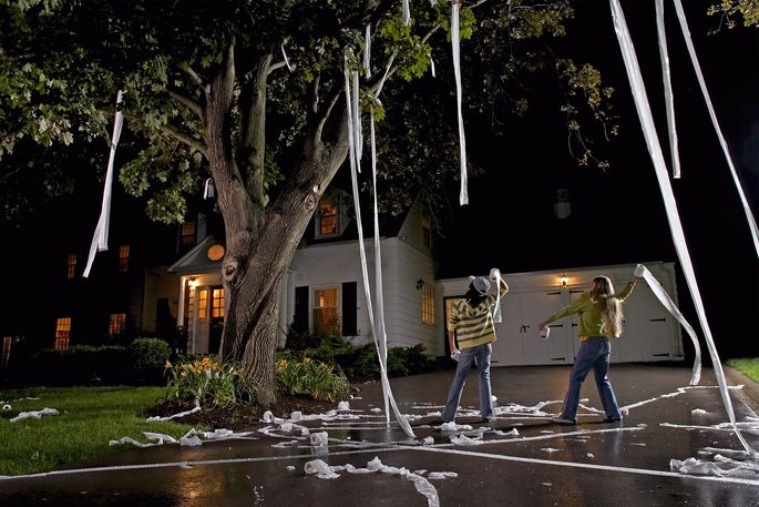 Halloween Pranks Trash Your Home? Here's How to Clean It Up ...