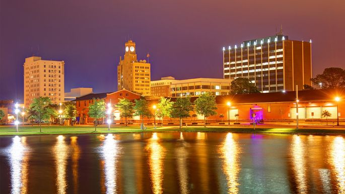 Downtown Beaumont, TX